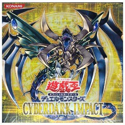 Yu Gi Oh  Japanese Cyberdark Impact Booster Box (japan import)