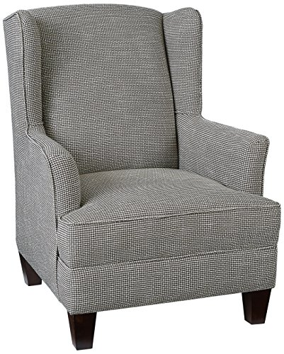 Bassett Park View 2589-02-5163-9A Samson Accent Chair, Charcoal