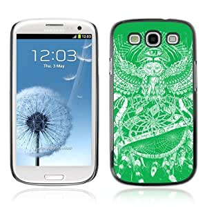 Designer Depo Hard Protection Case for Samsung Galaxy S3 / Owl Painting