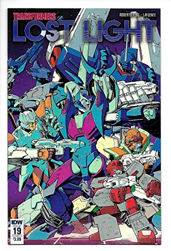 Transformers Lost Light #19 Cvr A (IDW, 2018) NM