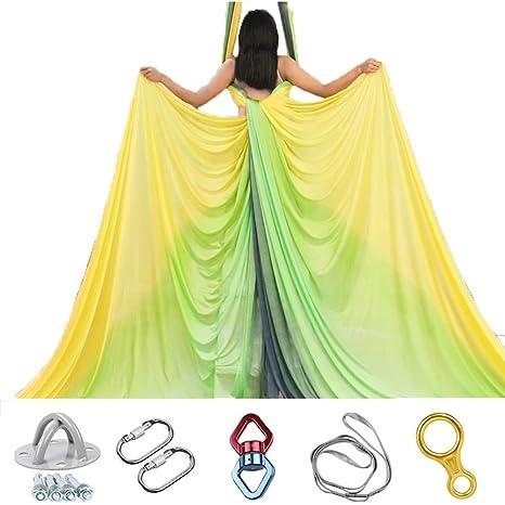 Juuz Aéreo Yoga Hamaca Color de Personalidad Teñido a Mano ...