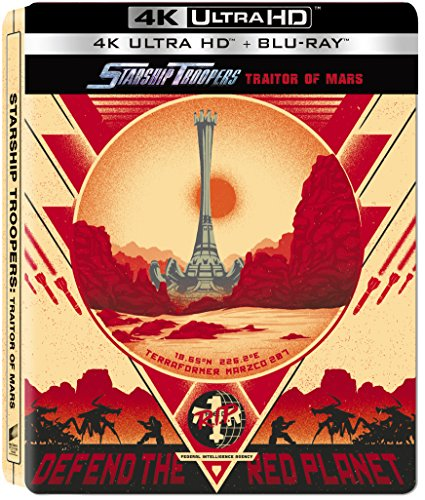 Starship Troopers: Traitor of Mars 4K Steelbook [Blu-ray]