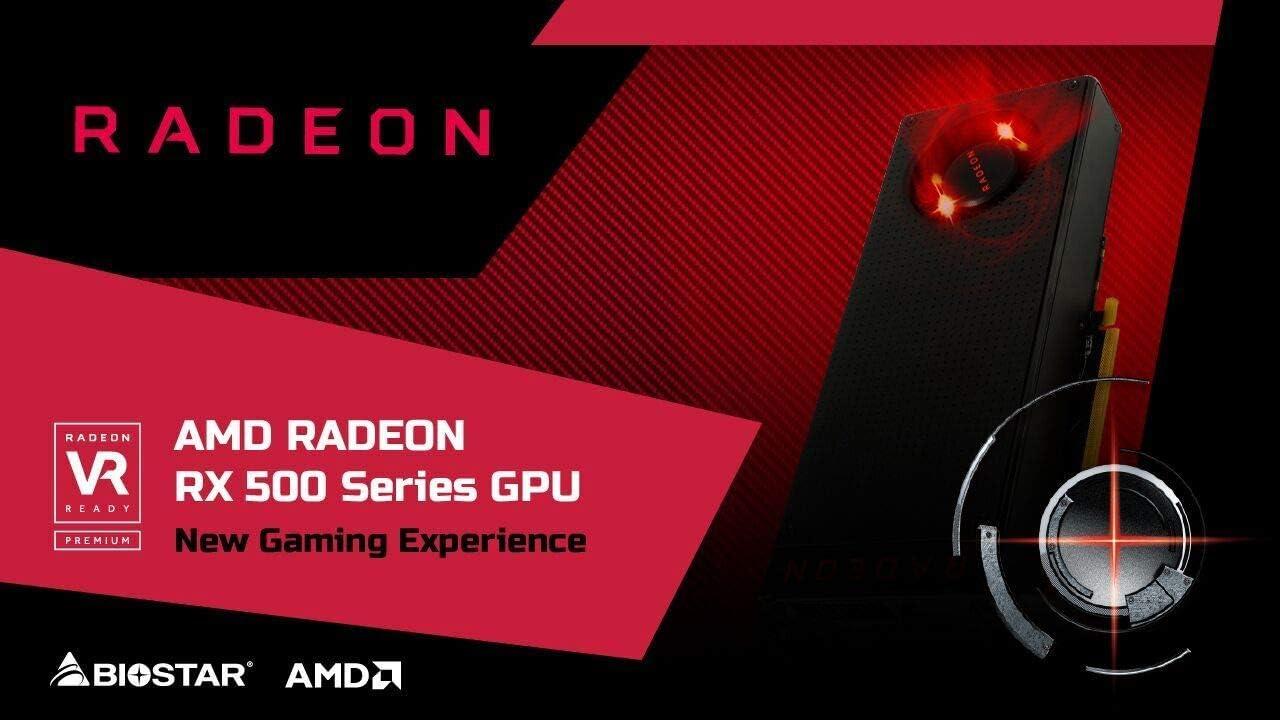 Carte Graphique AMD Radeon Biostar RX 550 D5 4Go