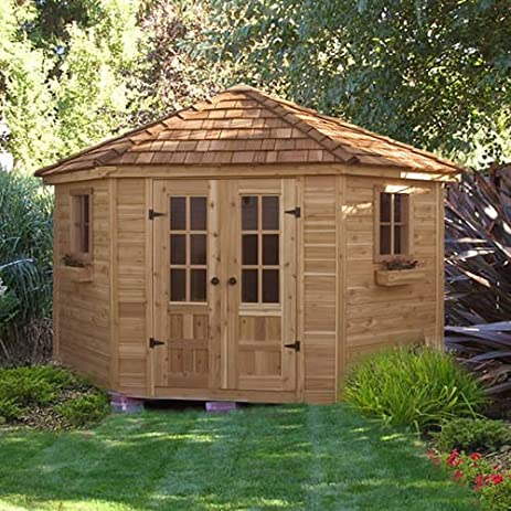 wood outdoor storage large shed to organize your garden tools u0026 pool