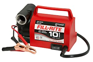 Fill-Rite FR1612 12V 10 GPM Portable Diesel Fuel Transfer Pump (Pump & Power Cord Only)