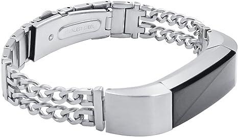 mtsugar Bracelet de Remplacement avec Fermoir pour Fitbit Alta//Fitbit Alta HR Bracelet