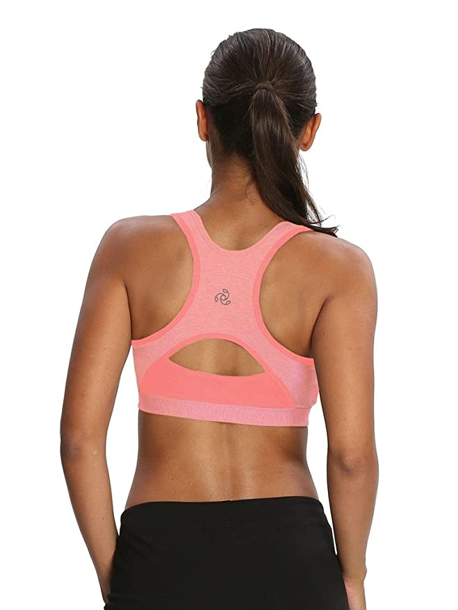 6a76d8bb9452c Jockey Women s Power Back Padded Active Bra  Amazon.in  Clothing    Accessories