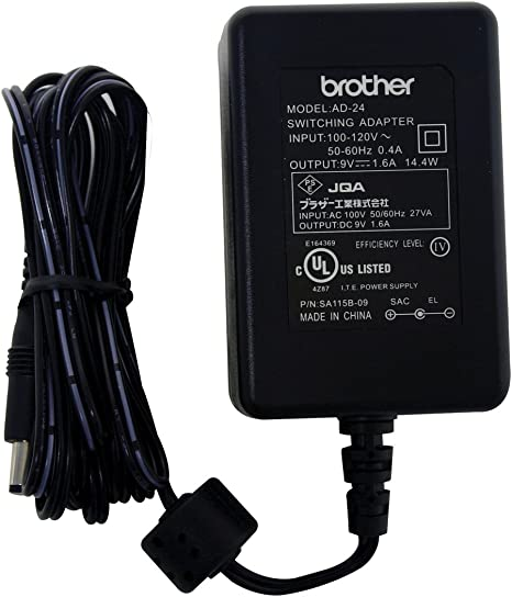 TOP CHARGEUR /® Adattatore Caricatore Caricabatteria Alimentatore 9V per Etichettatrice Dispositivo di Etichettatura Brother P-Touch PT-1000 PT-1005