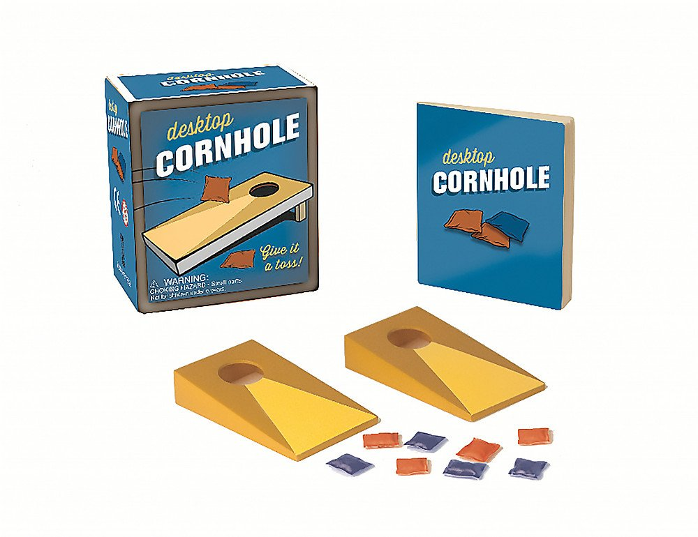 Desktop Cornhole: Give it a toss! (Miniature Editions)