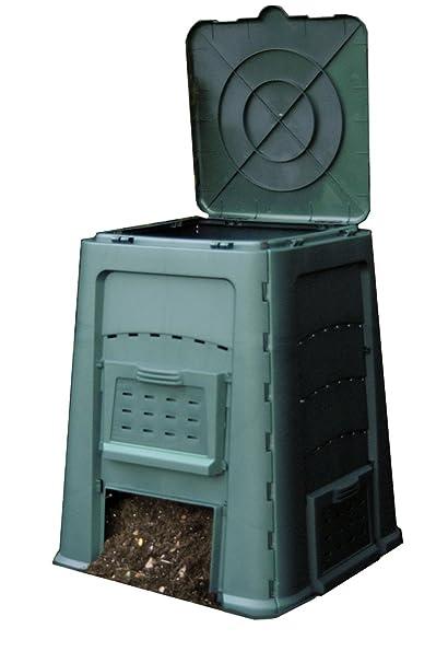 Amazon.com: Exaco Trading Company compostador, Verde: Jardín ...