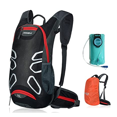 2fcd1a966d73 ANMEILU 15L Waterproof Hydration Pack - Hydration Backpack - Outdoor Sports  Running Cycling Hiking Water Backpack