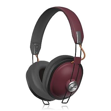 Panasonic Retro - Auriculares de diadema con Bluetooth 24 horas reproducción color: Amazon.es: Electrónica