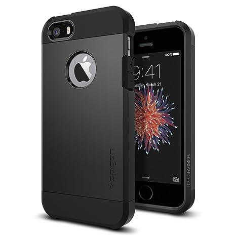Spigen iPhone SE Hülle, iPhone 5S/5/SE Hülle [Tough Armor] Extrem Fallschutz Handyhülle Schutzhülle für iPhone 5s/5, iPhone S
