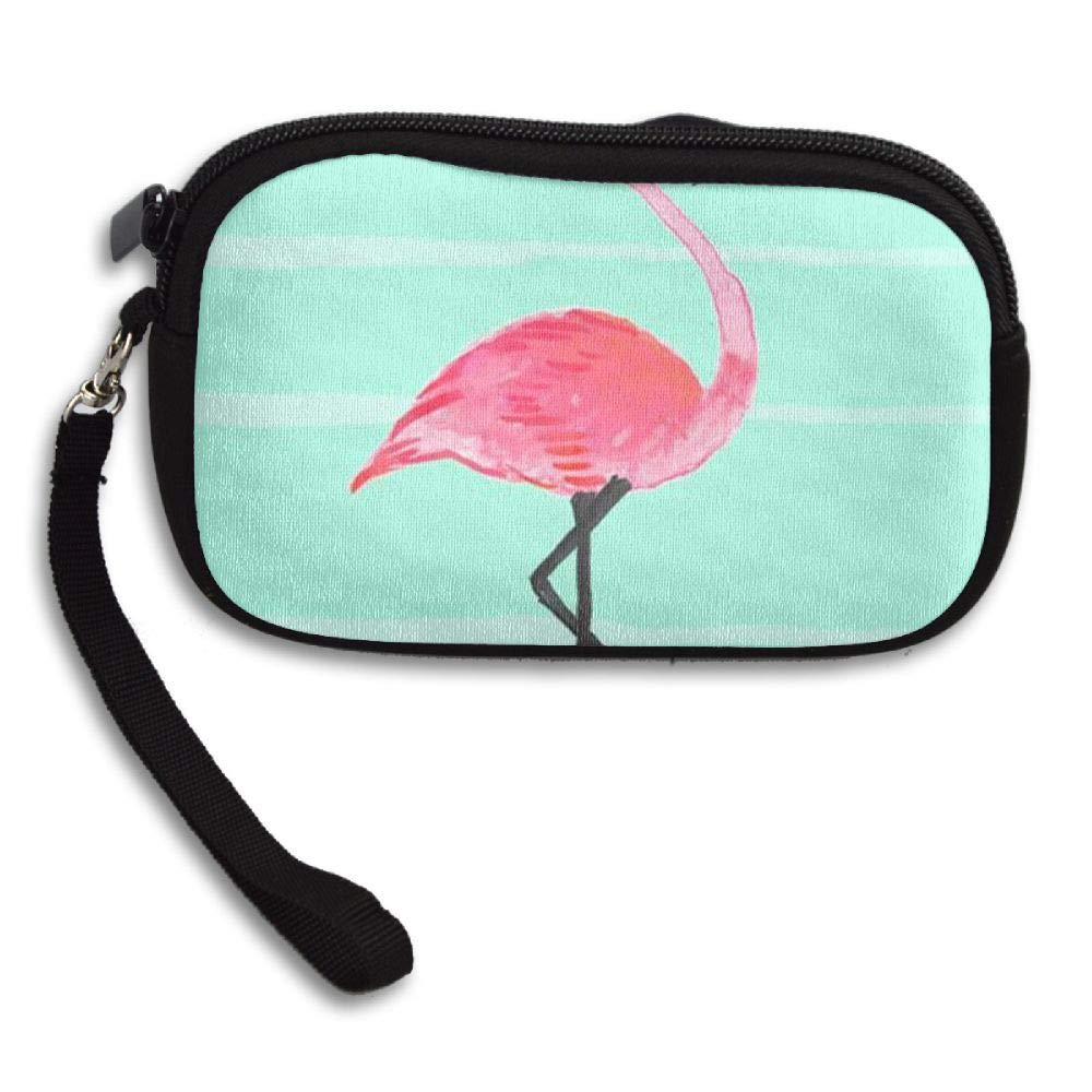 HACVREQ Unisex Personalized Wallet,Flamingo Purse Bag Woman Ladies Men Gentlemen