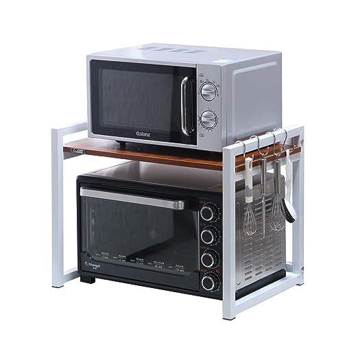 Cocina Microondas Horno Rack Almacenamiento Rack ...