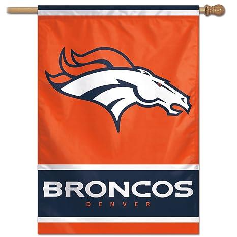 Amazon.com   NFL Denver Broncos 28-by-40-Inch Vertical Flag ... 7d834f92a