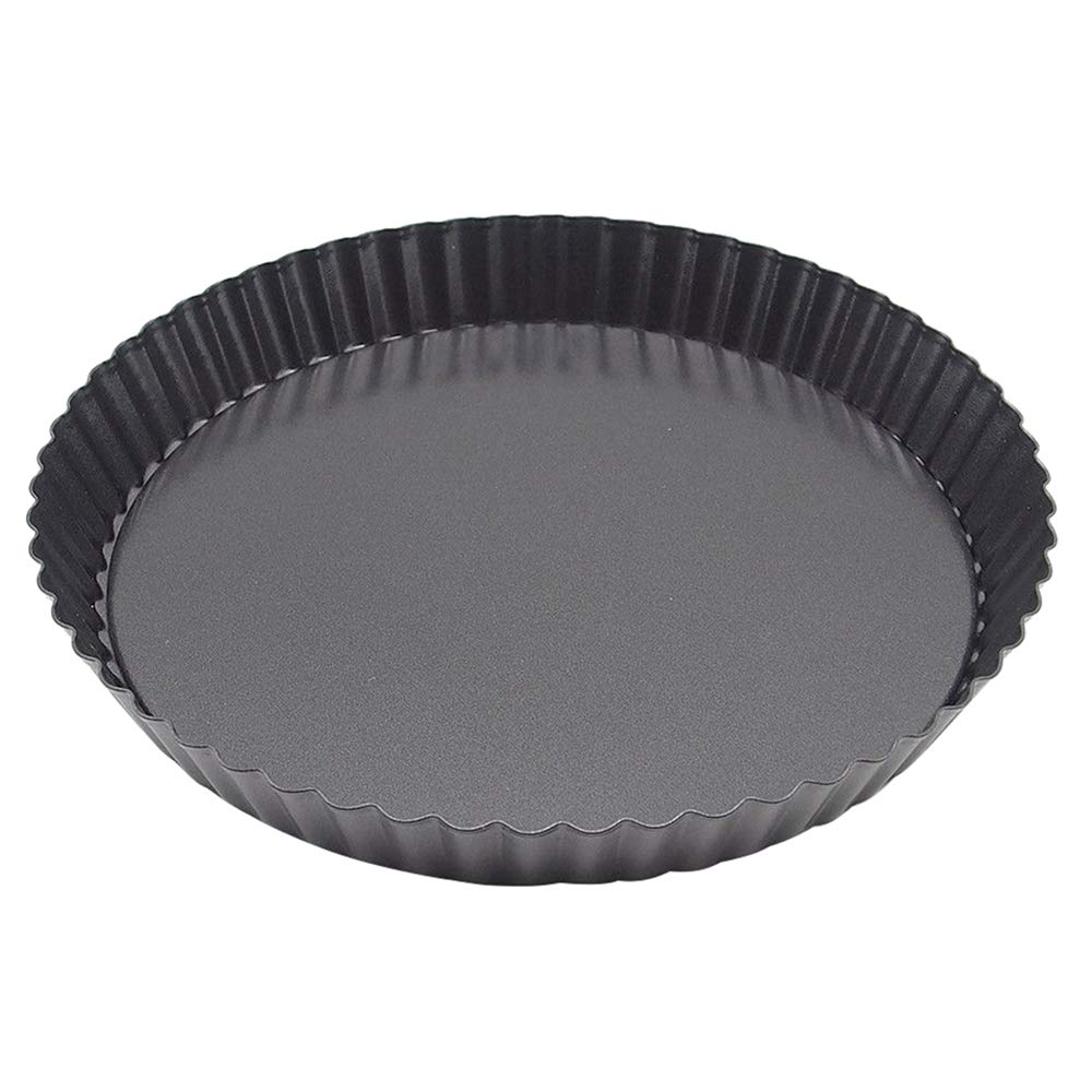 MyLifeUNIT Nonstick Tart Pan with Removable Bottom, 9 Inch Quiche Pizza Pan for Baking