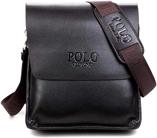 ZHD - Bolso Bandolera pequeño para Hombre, Color Negro: Amazon.es ...
