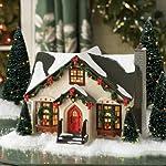 Department 56 Snow Village Dancing Lights Lit House