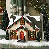 Department 56 Snow Village Dancing Lights House