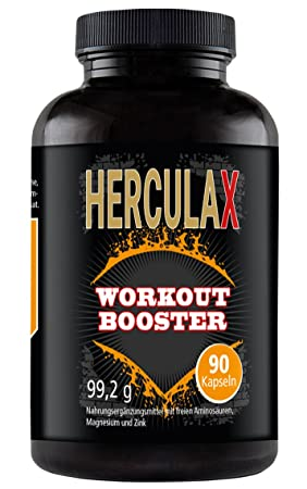 HERCULAX cápsulas para aumentar la masa muscular | suplemento nutricional | para el rápido aumento del