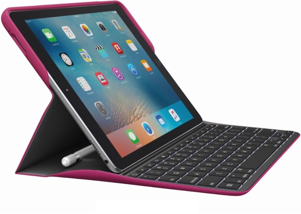 Logitech Create: Backlit Wireless Keyboard with Smart Connector For iPad Pro 9.7 (Blue) 920-008121