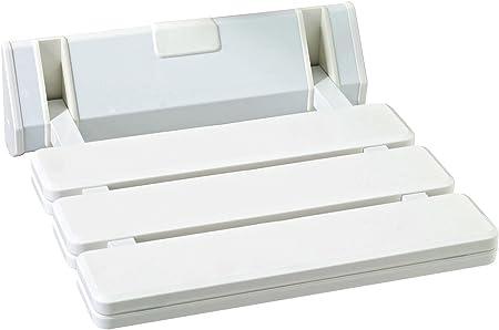 veebath Confort de Salle de Bain Mural aide à la mobilité Tabouret Siège de  Douche Pliable en blanc MAX. 130 kg