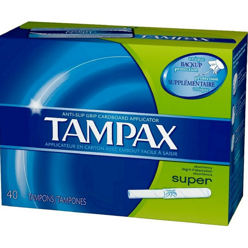 Tampax Super Size 40s