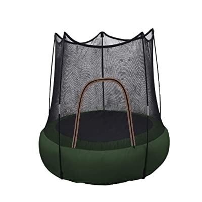 Inforin Kids Trampoline with Safety Enclosure Net, Trampoline for Kids, Indoor or Outdoor bobys Trampoline : Sports & Outdoors
