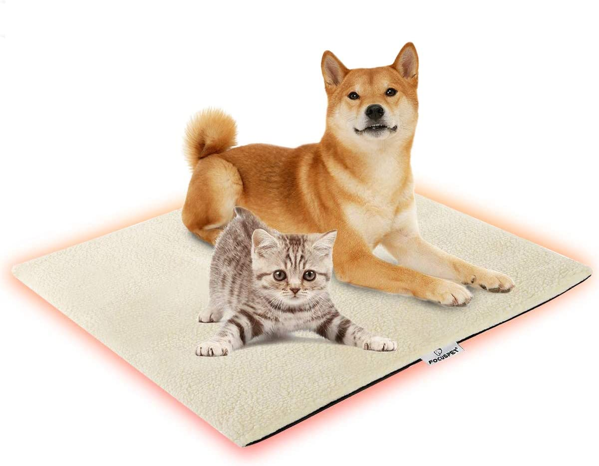 17.1x14.1IN Anti-dirty Cover for Pet Heating Pad,Pet Blanket for Dogs Cats Bed Mats