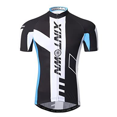 ee835f773 Amazon.com  Nawing Mens Cycling Jersey