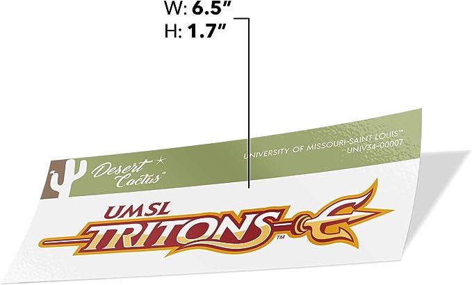 University of Missouri Saint Louis UMSL Tritons NCAA Sticker Vinyl Decal Laptop Water Bottle Car Scrapbook Family Full Sheet