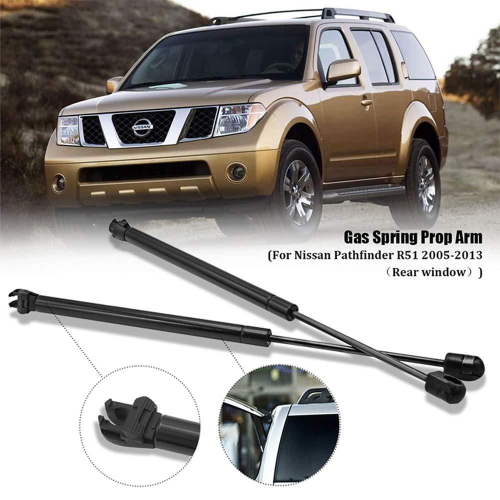 L/&U 2PCS Voiture arri/ère fen/être gaz Strut Choc Printemps Struts pour Nissan Pathfinder R51 2005-2013