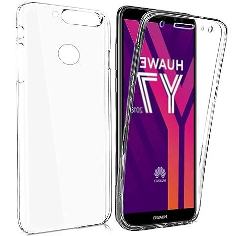 huawei y7 2018 coque transparente