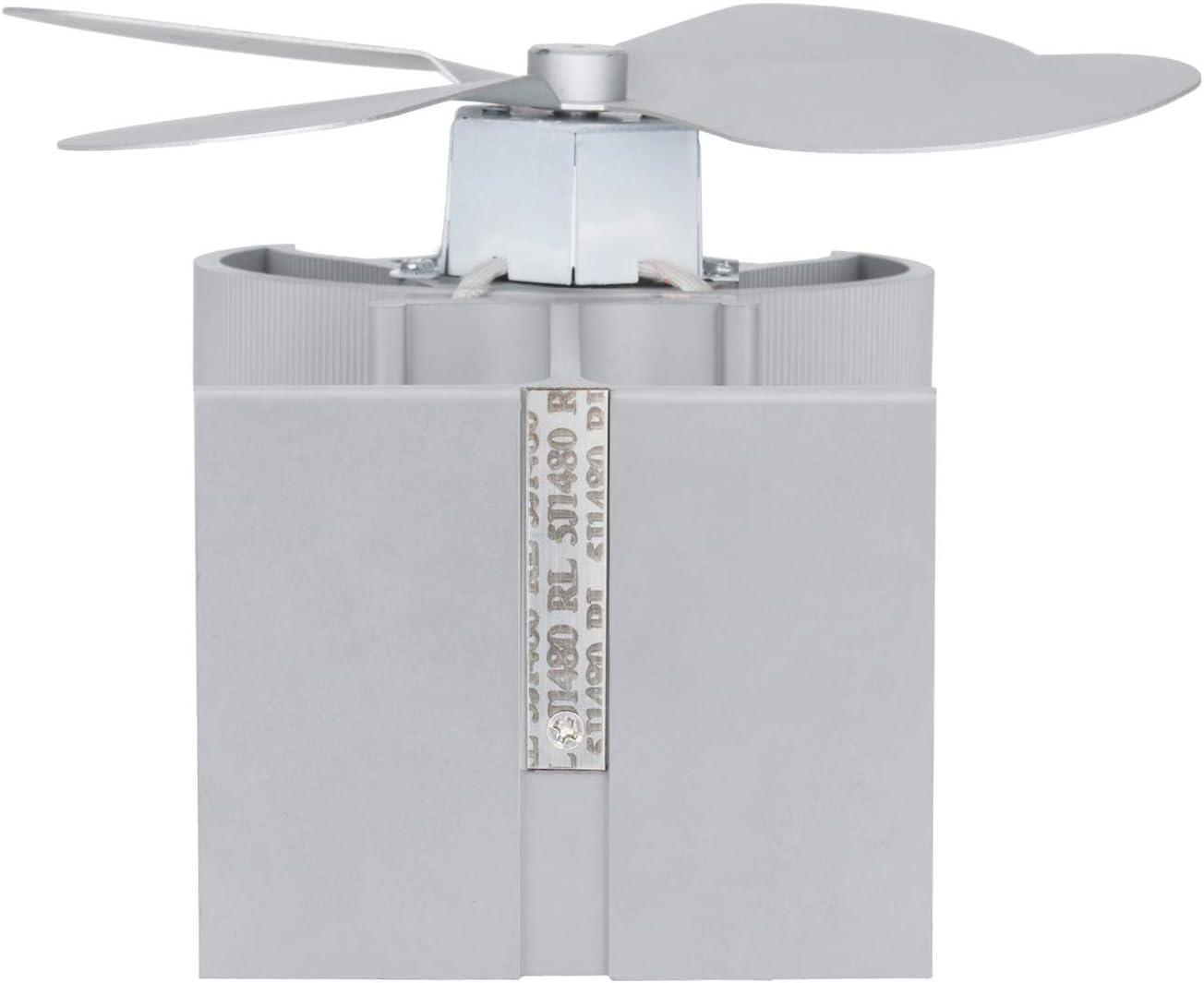 Kamin-L/üFter mit Effizienter W/äRme Verteilung Wei/ßEr Domilay/4-Fl/üGeliger W/äRmebetriebener Holzofen Kamin Ventilator f/ür Holz- Holzbrenner-