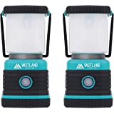VASTLAND(ヴァストランド) LED ランタン 1000ルーメン 2個セット 暖色 白色 4種類点灯モード 調光調色機能 防滴