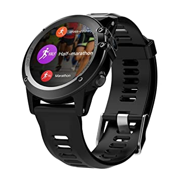 Amazon.com: H1 Smart Watch Android 4.4 Waterproof 1.39 ...