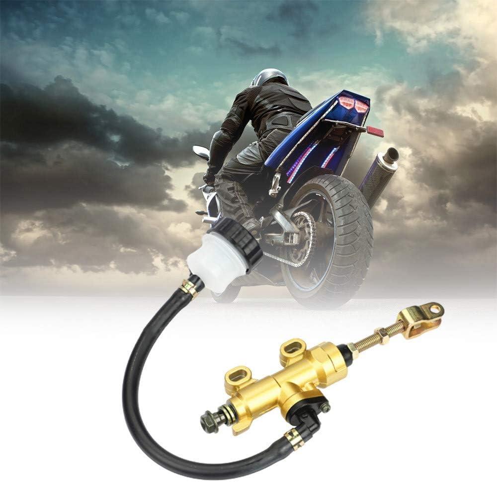 Rear Foot Hydraulic Brake Motocross Atv Accessories Rear Brake Pump Flat Pump Oil Pump Foot Brake Pump Motorcycle Modified Parts Available In Three Colors Black