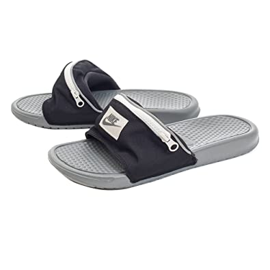 9e39998987adb Nike Benassi JDI Fanny Pack - Black/Cool Grey-Summit White - AO1037-