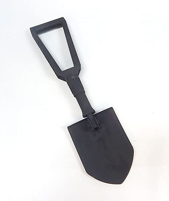 Genuine Military issue Tri-Fold Entrenching Tool E-Tool with Shovel Cover