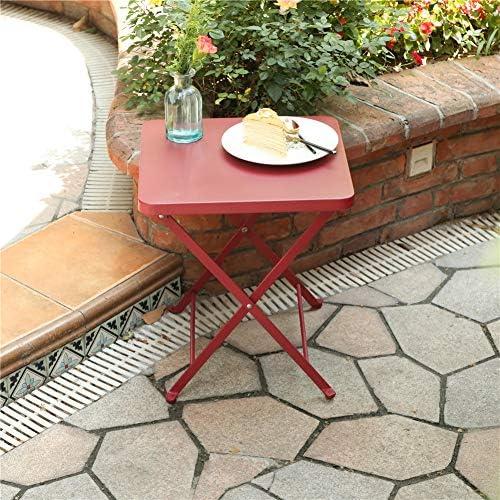 PHI VILLA Outdoor Folding Bistro Table