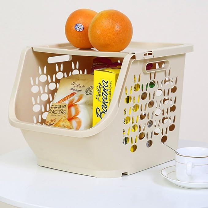 OviTop 3er Set Obst und Gemüse Korb Obst Aufbewahrung Obst und ...