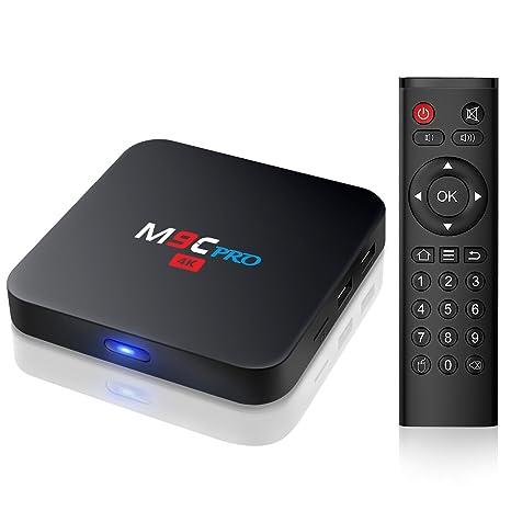 2018 Android TV Box- TICTID M9C Pro Android 6.0 TV Box Amlogic S905X Quad Core