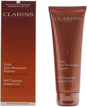 Clarins self Tanning Instant Gel Fresh and Non-Oily 125 milliliter 4.5 Ounce