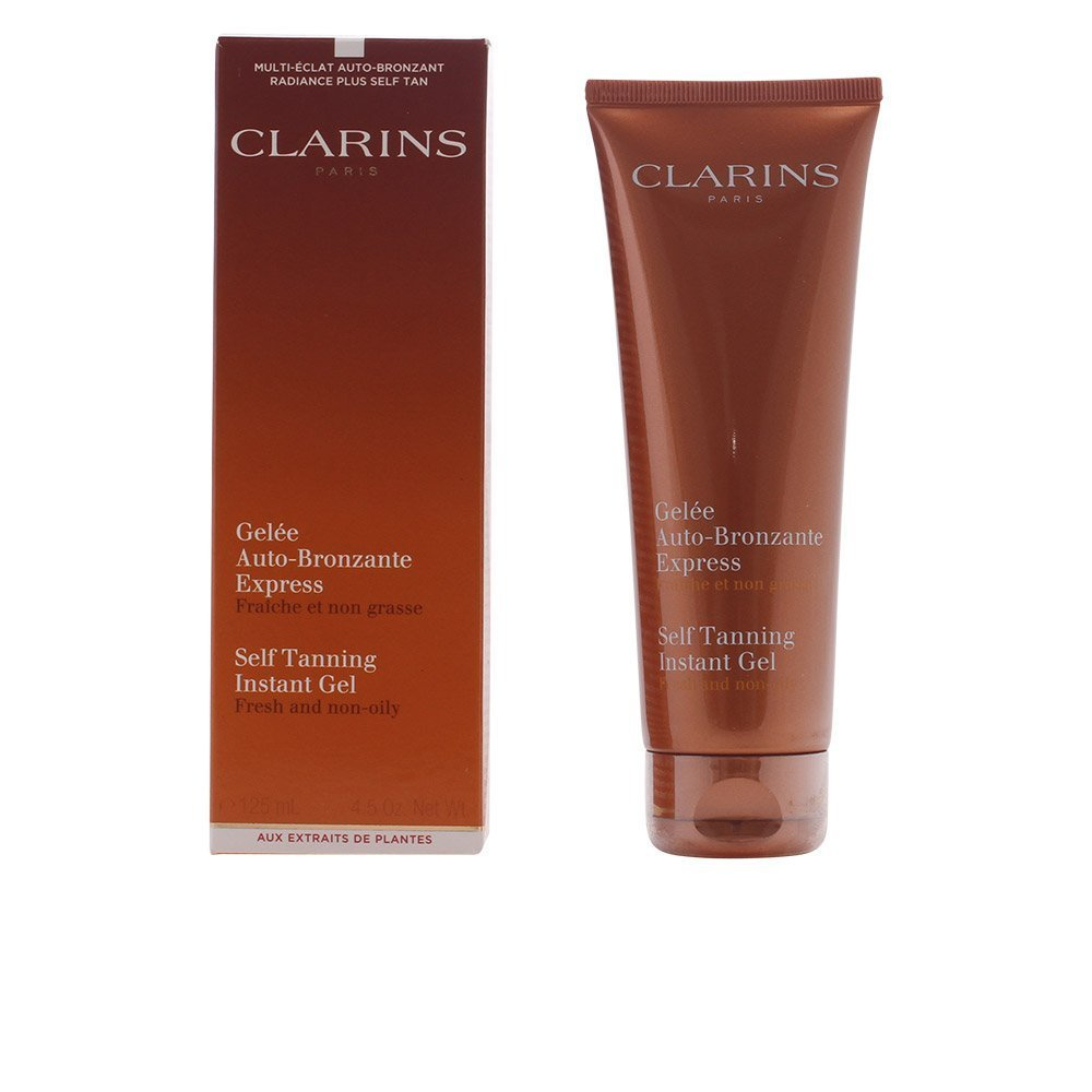 Clarins self Tanning Instant Gel (Fresh and Non-Oily) 125 milliliter/ 4.5 Ounce