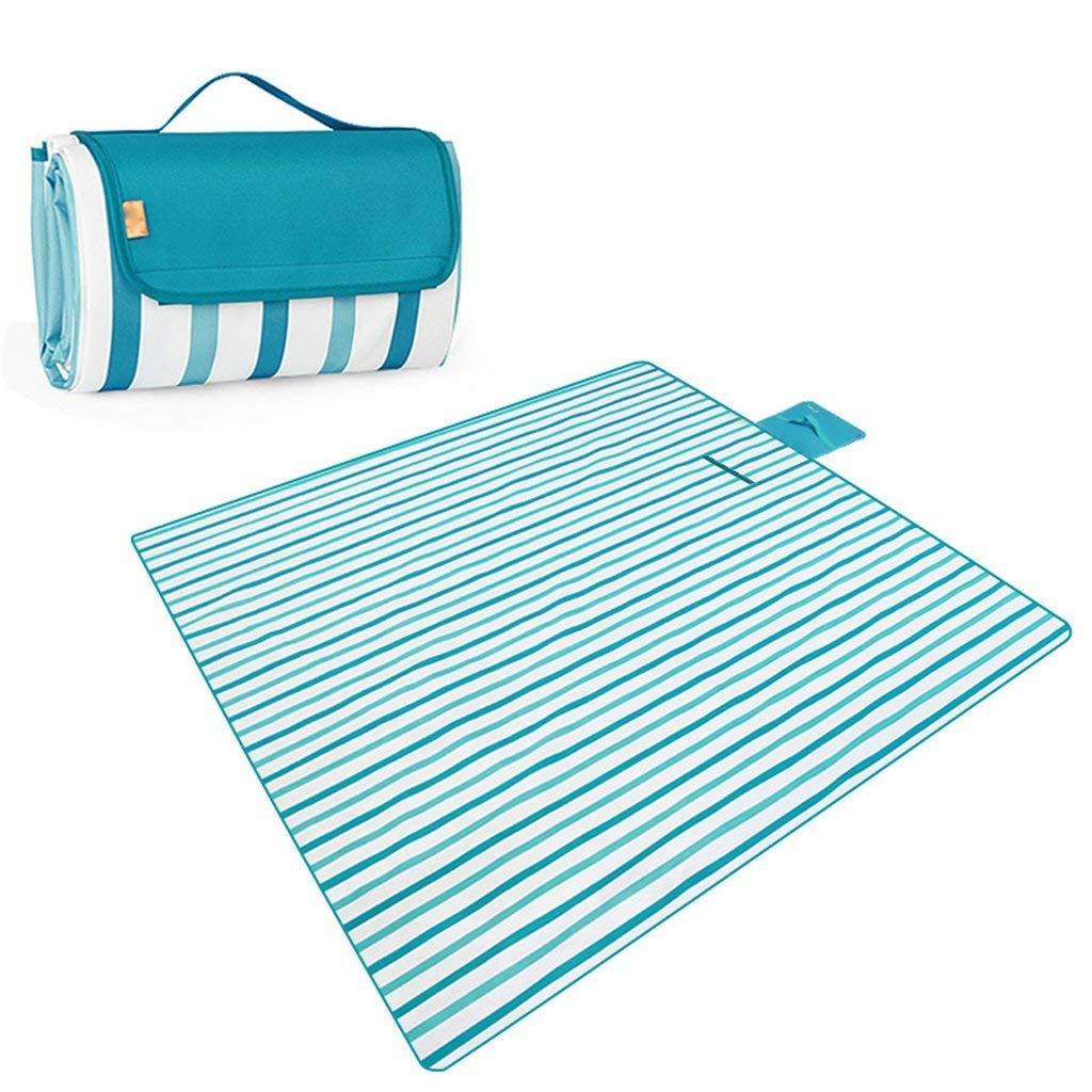 ピクニック毛布 ピクニックマット防水オックスフォード布防湿ビーチフィールドマット  A B07RX4YWBD