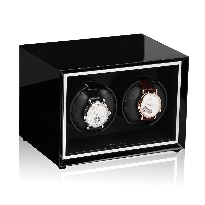Luxwinder Uhrenbeweger Stella fÜr 2 Automatikuhren in schwarz  430211