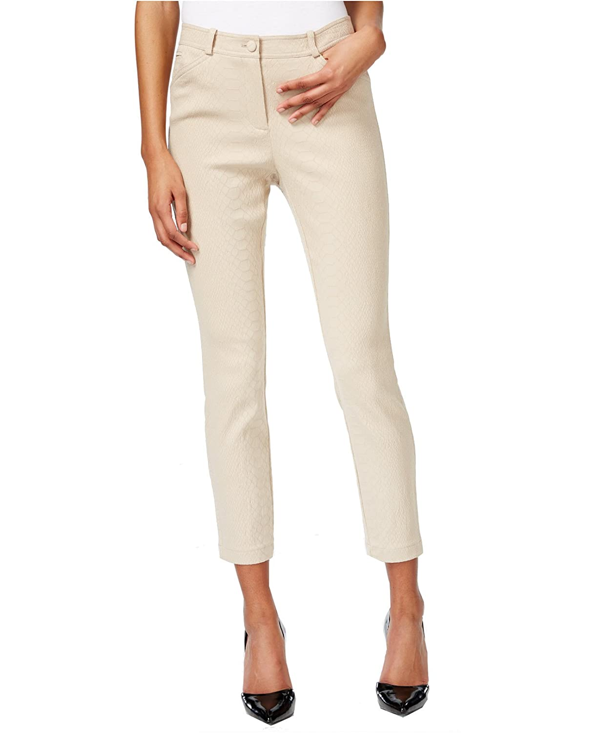 Bar III Women's Textured Trousers
