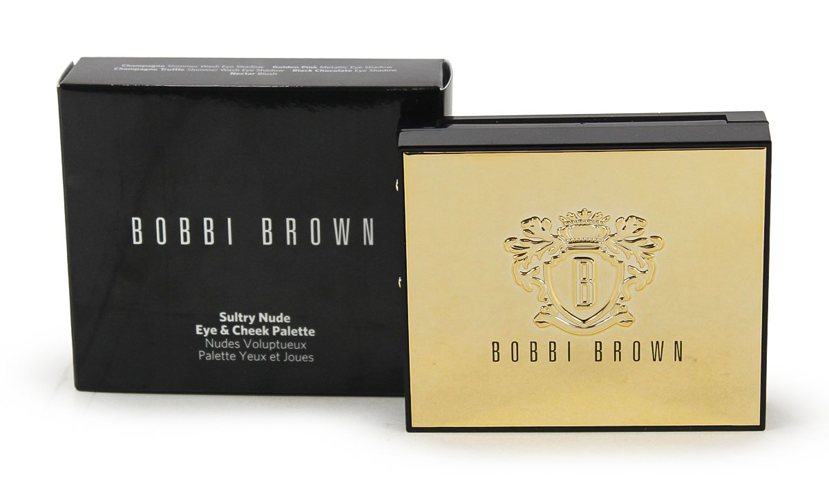 Bobbi Brown Sultry Nude Eye Cheek Palette Limited Illuminating Edition Beauty