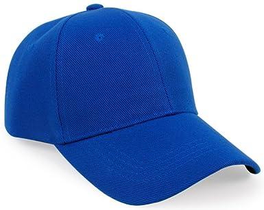 Leisial Gorra de Béisbol de Ocio Color Sólido Ajustable del Sombrero Hats  Hip-Hop Verano Tejido de Transpirable para Hombre Mujer (Azul)  Amazon.es   Ropa y ... ef963751141c